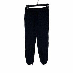 Uniqlo Black & White Polka Dot Casual Pants